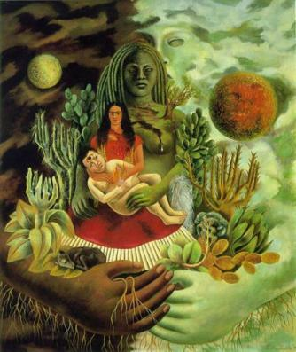 © Frida Kahlo; Found on oriana-poetry.blogspot.com