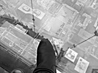 New Earth ॐ New Life ॐ New Dreams ॐ New Heights. I stepped out onto the Ledge, the city continued to bustle 1,353 ft. below my boot.