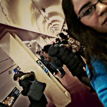 I encountered zombies while waiting for the Blue Line metro. Read about it here >>> http://wp.me/p1AMEs-bX