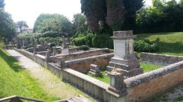 An old cemetery in Aquileia, Italy. Photo taken by Trina Otero with Samsung Galaxy Note 2.