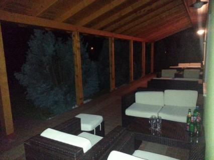 Snapshot of a lounge area at House Tina. Photo taken with my Samsung Galaxy Note II. Rakovica, Croatia, June 2013.
