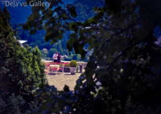 Jess captured a candid moment of two lovers. Lake Bled Castle, Slovenia, June 2013. Photo © Deja'vu Gallery
