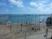 Snapshots of beach coasts from my train.