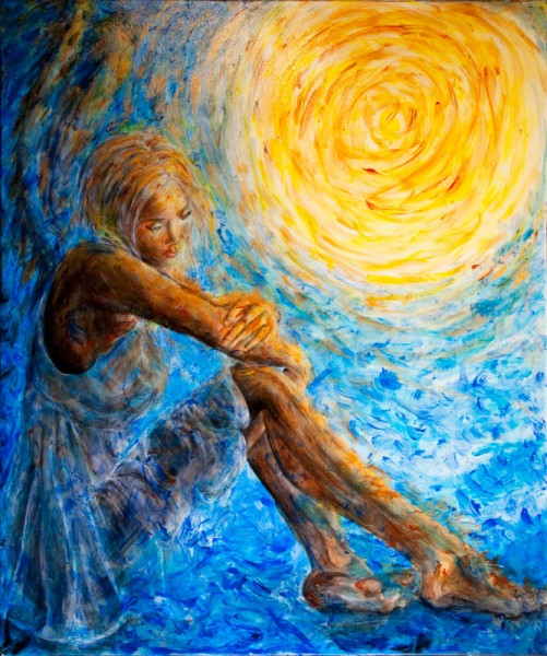 Of Sea Wind and Waxing... Famous Spiritual Paintings