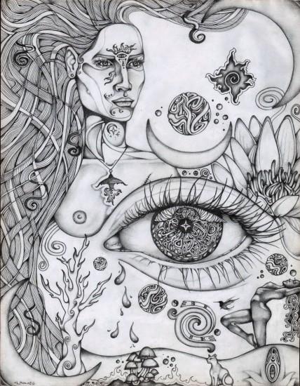 Third Eye Rising by Laura Borealisis lauraborealisis.deviantart.com