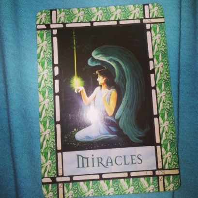 Miracles take faith. Miracles are the manifestation of your intentions. ♥