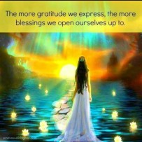 Giving thanks to the Supreme Creator/Universe is such a simple task we forget to do...Yet it is SO VITAL. No matter how you perceive things, it is all for your growth and it's up to you to learn from it and show gratitude for it. ♥ I speak from experience, this isn't regurgitated material. ♥