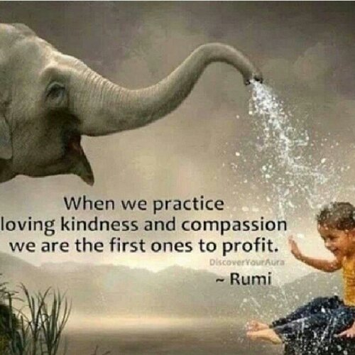 Empaths should show compassion instead of empathy.