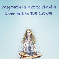 affirmation to be love