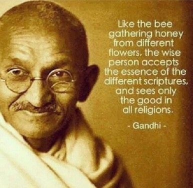 universal truth in religions, ghandi