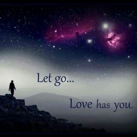 let go and let love heal you