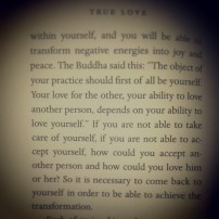 Thich Nhat Hanh speaks about loving yourself before loving others