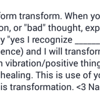 transform your negative thoughts into positive affirmations