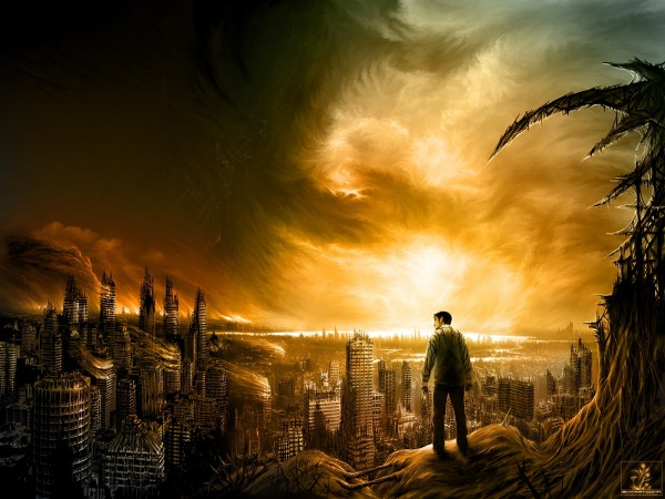 Apocalypse is synonymous with destruction.