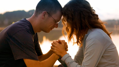 It is powerful to pray and meditate with your life partner, wife, husband.