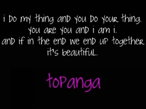 the topanga quote, soulmates