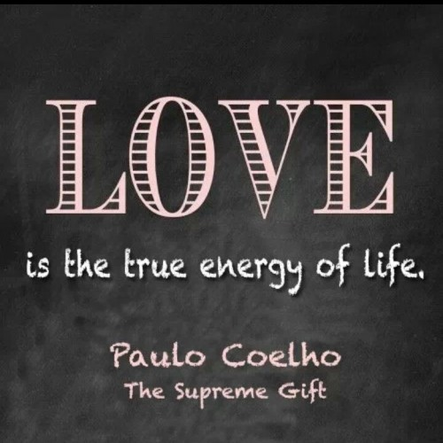 Love is the true energy