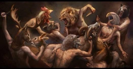 human nature versus animals