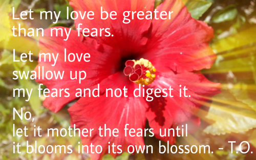 alchemy of fear into love