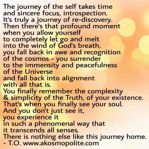 Soul Journey, Akosmopolite