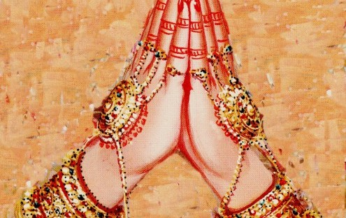 anjali mudra, namaste, praying hands