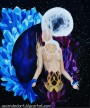 full moon art_c. wolf_goddess_moon goddess