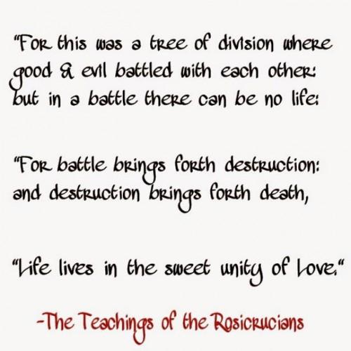 unity of love