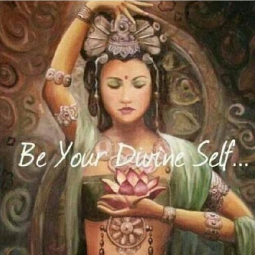 be divine, Quan Yin, divine self, divine feminine, sacred feminine, goddess