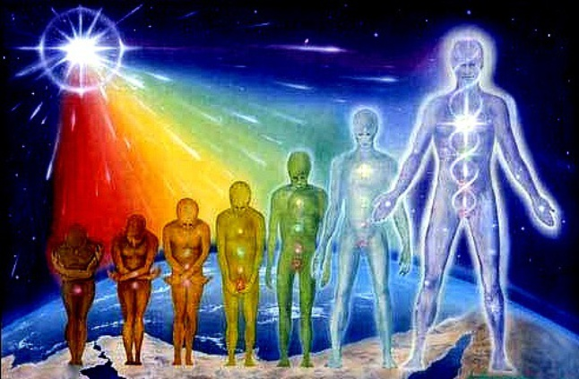 spiritual evolution of the human race