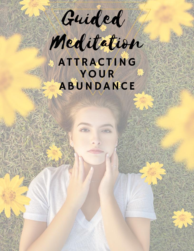 Attract abundance manifest manifestation health money love friends