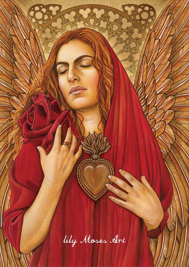 Mother Mary Magdalene Priestess Trina Akosmopolite Lily Moses