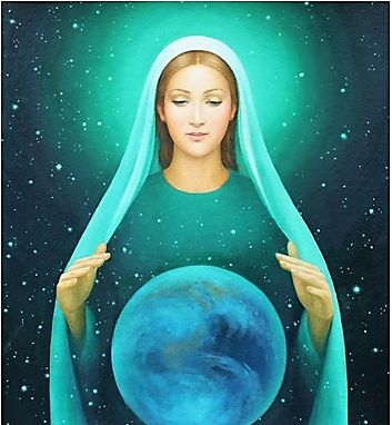 Mother Mary Mary Magdalene Priestess Cosmic Mother Trina Akosmopolite