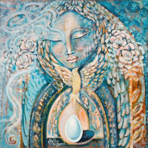 Mother Mary Magdalene Dove Shekinah Pleiades Trina Akosmopolite Priestess