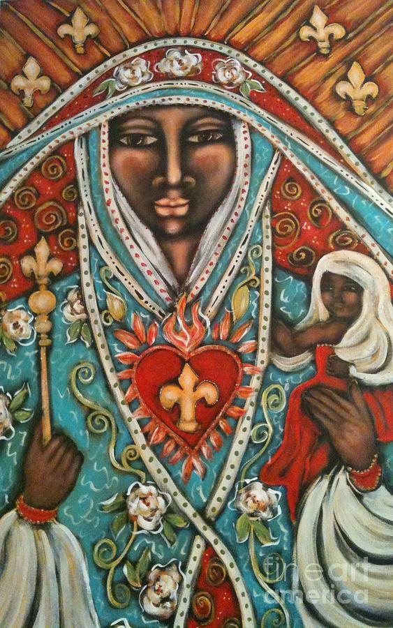 Mother Mary Mary Magdalene Priestess Divine Feminine Trina Akosmopolite