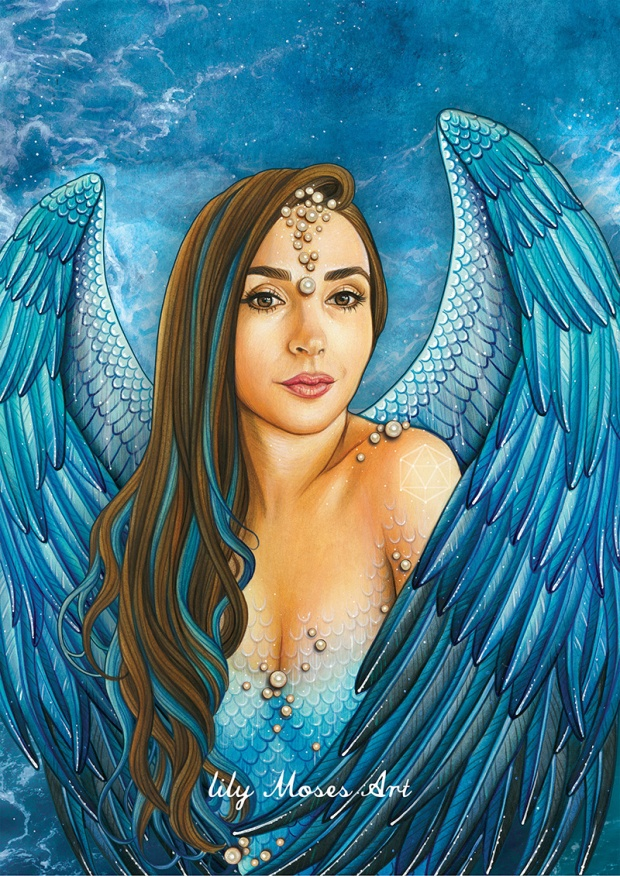 Mer Mermaid Mary Mar Mary Magdalene Mother Mary Faerie Priestess Trina Akosmopolite